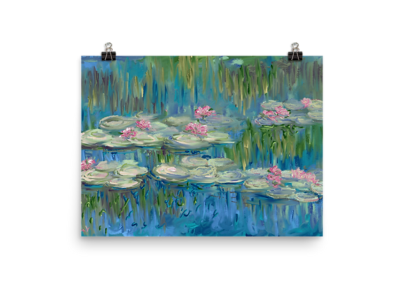 Water Lily 00.4 Poster