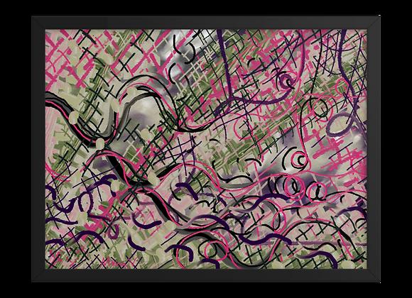 Lipstick 00.11 Framed poster