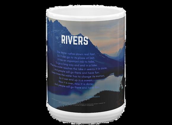 """""""Rivers"""" Mug"""