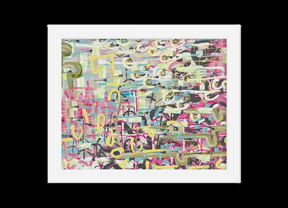 """""""Lipstick"""" 00.2 Framed Poster"""