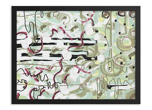 Mint Julep 00.5 Framed poster
