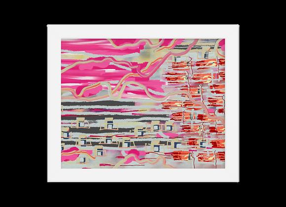 """""""Lipstick"""" 00.10 Framed Poster"""