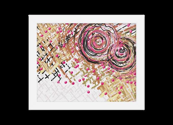 """""""Lipstick"""" 00.12 Framed Poster"""