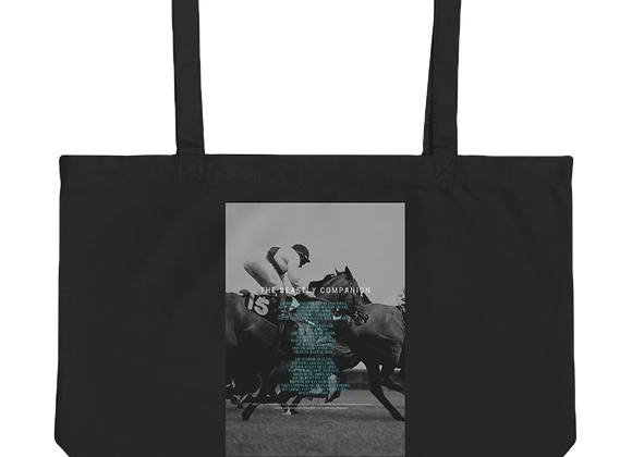 """Beastly Companion"" Large organic Tote Bag"