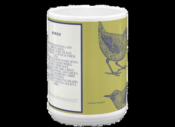 """Birds"" Mug"