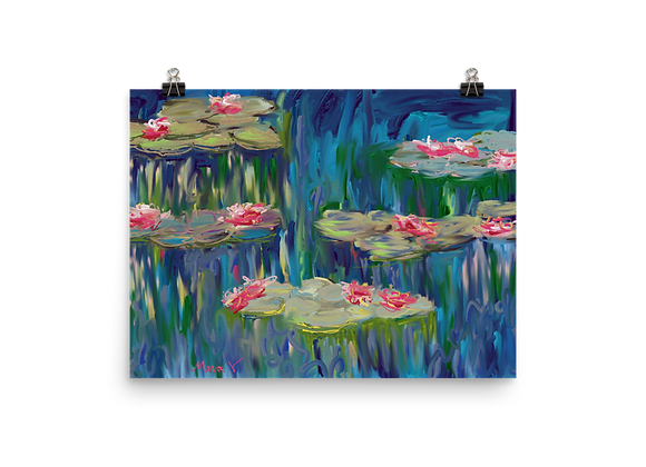 Water Lily 00.6 Poster