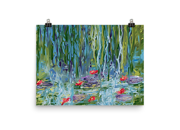Water Lily 00.2 Poster