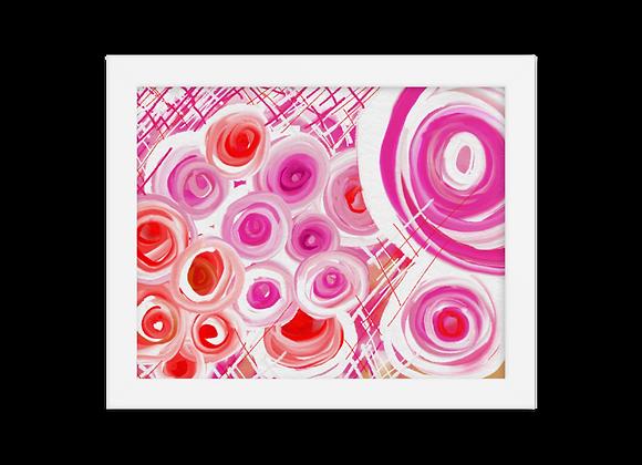 """""""Lipstick"""" 00.4 Framed Poster"""