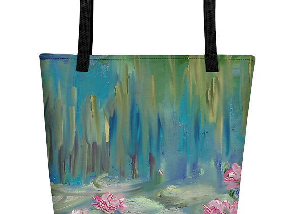 """""""Water Lily"""" 00.4 Beach Bag"""