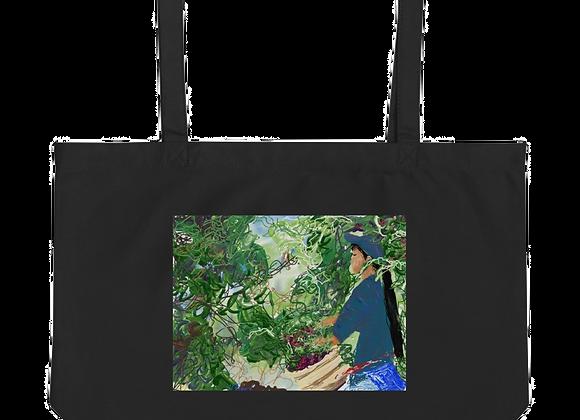 """""""Coffee"""" Large organic Tote Bag"""