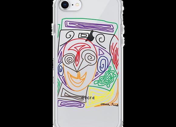 """Crazy Face"" iPhone Case"