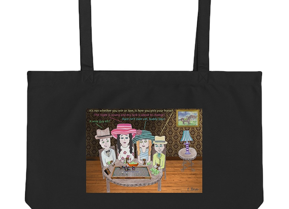 """The Gang"" Large organic Tote Bag"