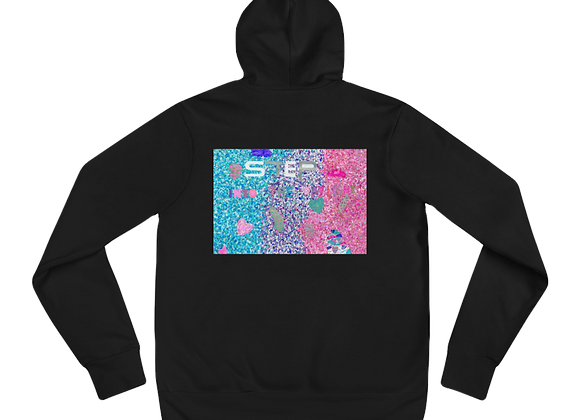 """""""Step Into the Light"""" Unisex hoodie"""
