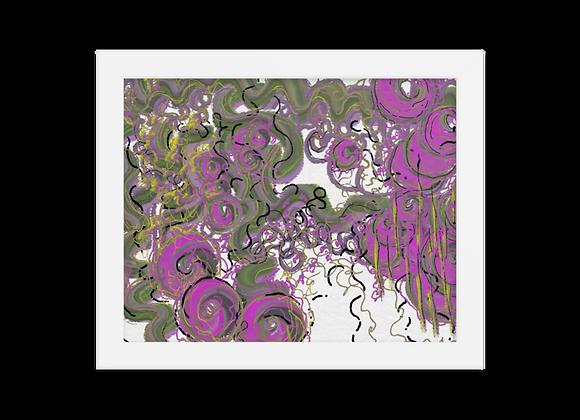 """""""Lipstick"""" 00.5 Framed Poster"""
