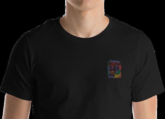 """Crazy Face"" Short-Sleeve Unisex T-Shirt"