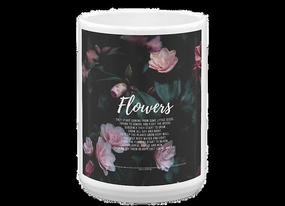 """""""Flowers"""" Mug"""