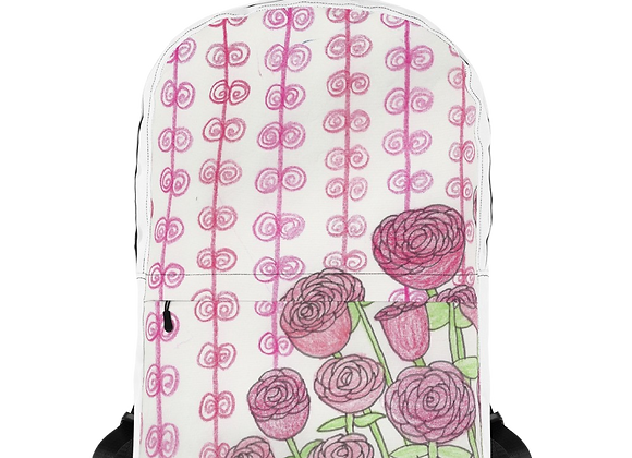 """Roses"" Backpack"