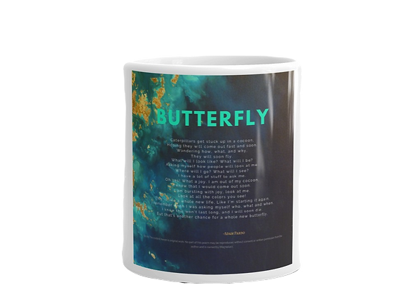 """Butterfly"" Mug"
