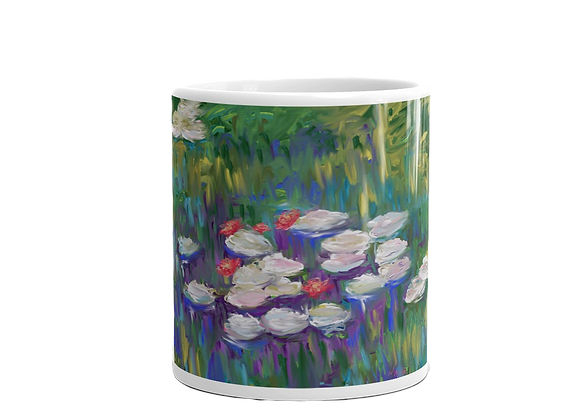 """Water Lily"" 00.3 Mug"