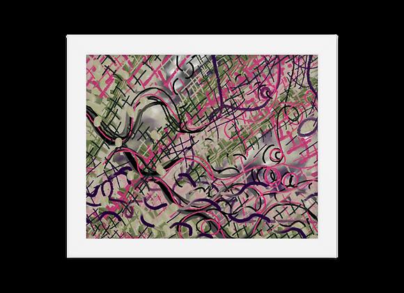 """""""Lipstick"""" 00.11 Framed Poster"""