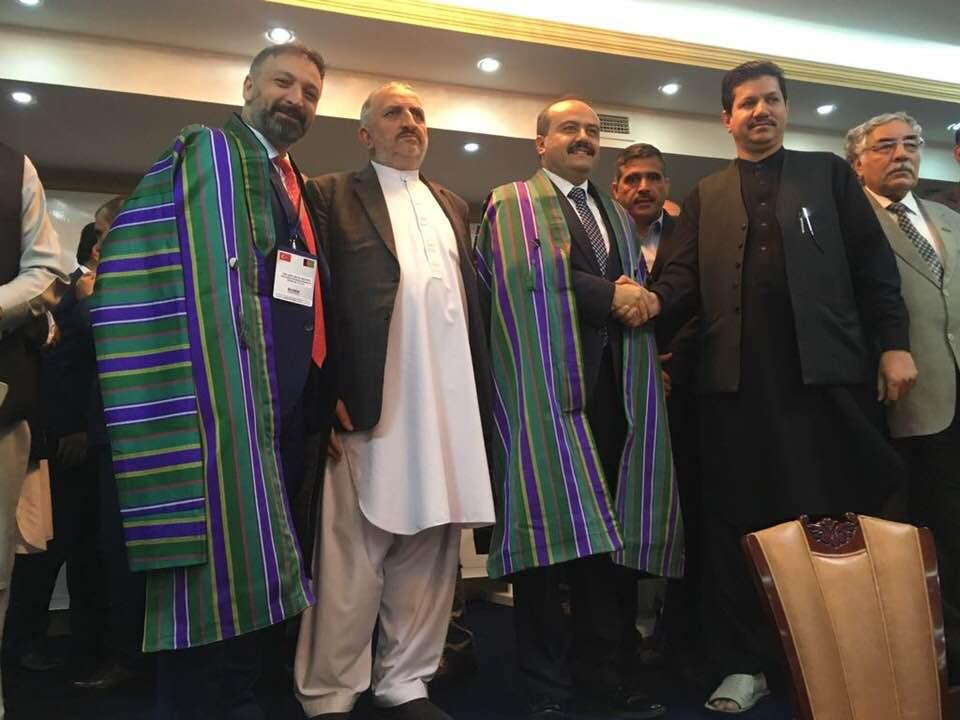 sayın ekonomi bakan yardımcımız ile Afganistan da iş görüşmesi