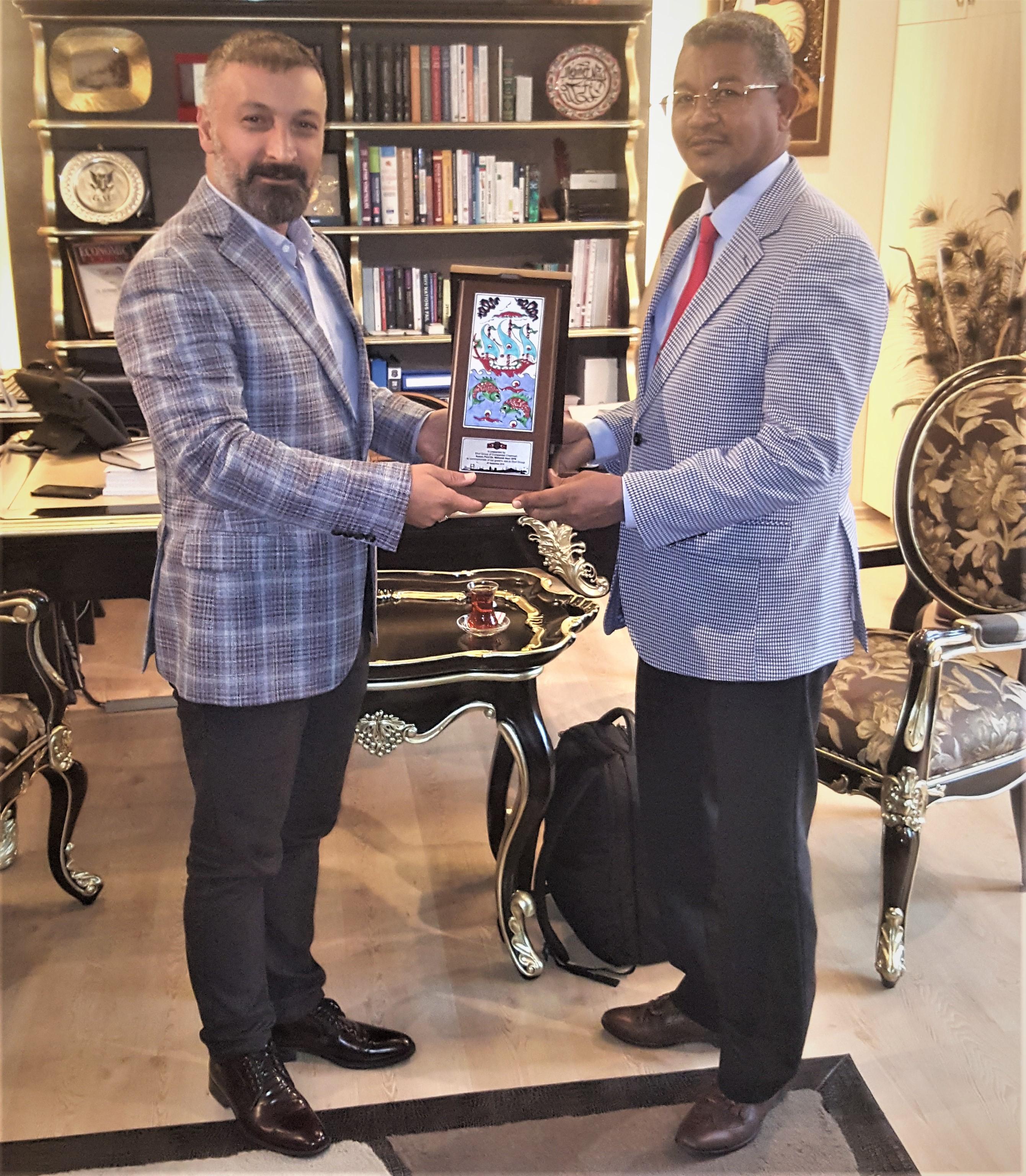 Sudan Ticaret Heyeti Ziyareti