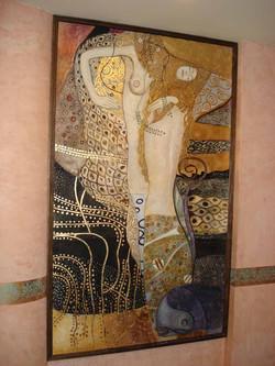 True Fresco Mural and gold