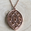 Thumbnail: Strawberry Hill pendant: copper with cut out detail