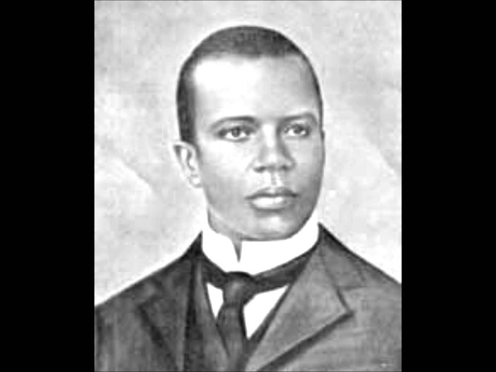 Composer and pianist Scott Joplin