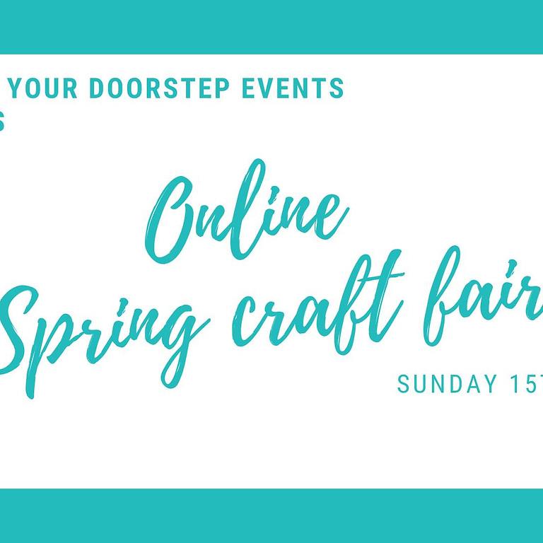 Online Spring Craft Fair
