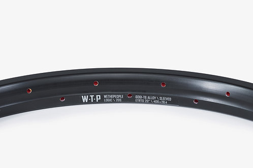 Rin WTP Logic Pineado - Negro