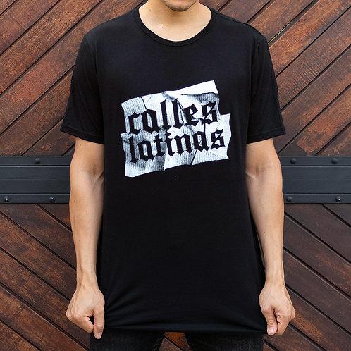 Camiseta Mutanty Calles Latinas - Negro