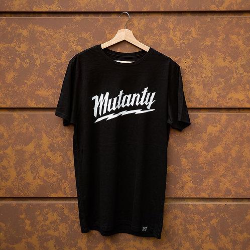 Camiseta Mutanty Thunder - Negro