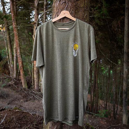 Camiseta Mutanty Golden - Verde