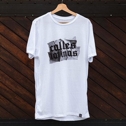 Camiseta Mutanty Calles Latinas - Blanco