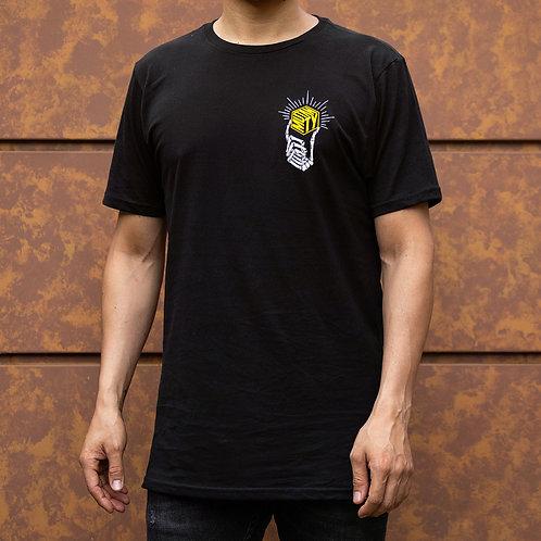 Camiseta Mutanty Golden - Negro
