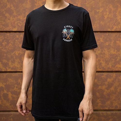 Camiseta Mutanty Street Paradise - Negro