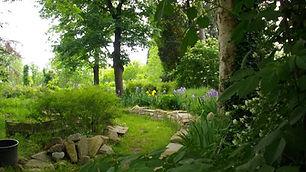 Vialetto in pietra nel giardino