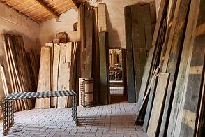 Interno del magazzino Assi Antiche