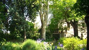Giardino, muro casa