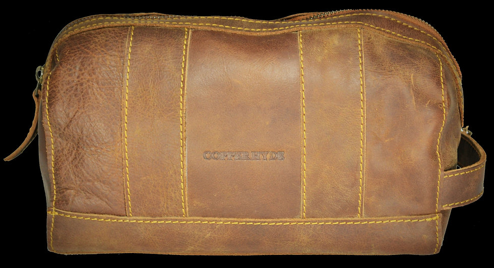 Toiletry / Dopp Bag Leather