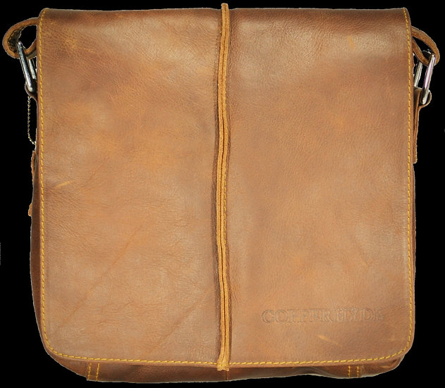 Cross Body Messenger Bag Leather