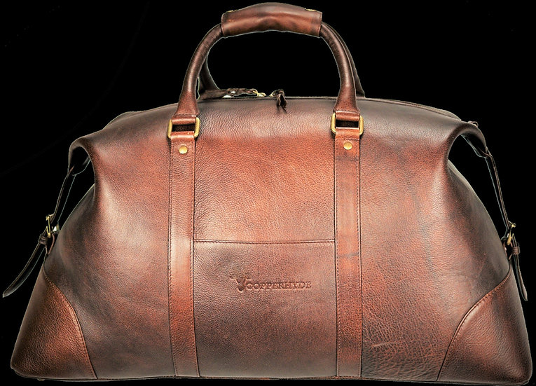 Weekender Bag Leather - Mocha