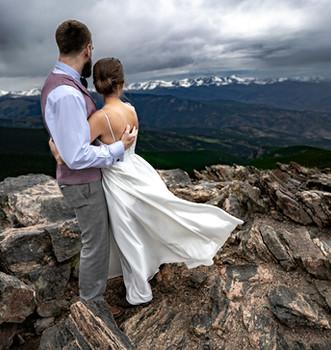 Mountain Top Elopement photographer