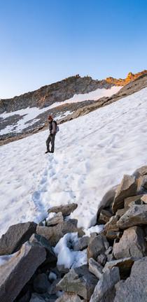 Colorado Adventure photographer - Capitol Peak summit