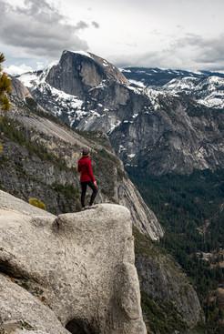 A view of Half Dome, Yosemite, California