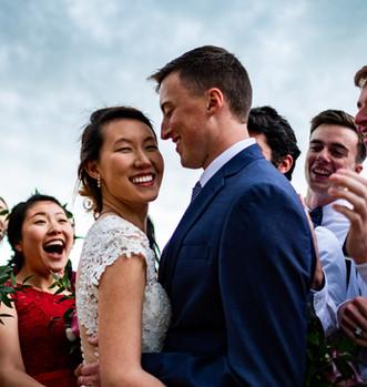 Married in Boulder, Colorado