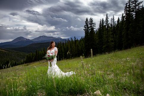 Colorado Mountain Bride