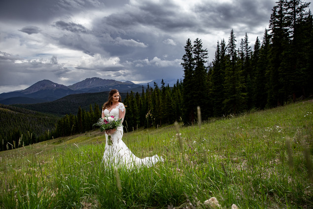 Colorado Mountain Bride