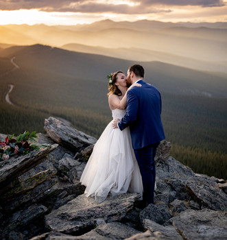 Rockies intimate wedding